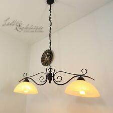 Landhaus Hängeleuchte Alabasterglas Pendelleuchte Pendellampe Lampe Leuchte