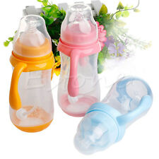 320mL Wide Neck Anti-colic Baby Infant Milk Feeding Nipple Bottle Nurser Hot