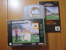 Waialae Country Club : True Golf Classics ~~ Jeu N64 Nintendo 64 Complet