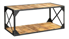 Coffee Table JAL Industrial Range Made From Recycled Metal and Wood DID14