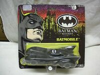 BATMAN RETURNS BATMOBILE 14 cm #2474 1992 DC COMICS ERTL MINT IN PERFECT CARD