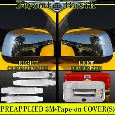 2014 2015 2016 2017 COLORADO CANYON Chrome Handle COVERS+Mirror Tailgate Overlay