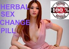 60 HERBAL FEMINIZER SEX CHANGE PILLS Female Hormone Estrogen Breast Enlargement