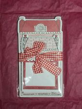 The Planner Society Red House Notepads Setof Two New