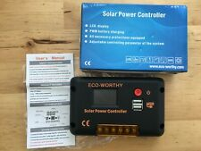 Eco-Worthy 24V Solar Power Controller LCD Display PWM Battery Charging