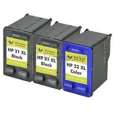3 Druckerpatronen HP 21 22XL D2445 D1341 D1320 D1311 D1560 D1530 F2235
