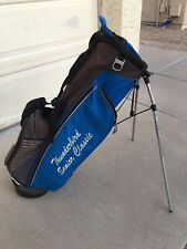 PING 4 Series Lo Golf Stand Bag With Rain Cover - Blue