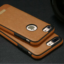 COQUE ETUI HOUSSE LUXE Pour IPHONE 6 6S 7 Plus 8 GEL TPU LEATHER ULTRA FINE CASE