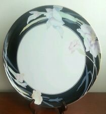 Mikasa Black charisma Round Cake Platter Nearly Mint Condition