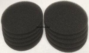 10 x Bulpren Filter Pluggit EVF EV 100, 200, 500 REV runde Abluft / Abluftventil