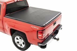 Rough Country Soft Tri-Fold (fits) 2014-2018 Chevy Silverado GMC Sierra   6.5 FT
