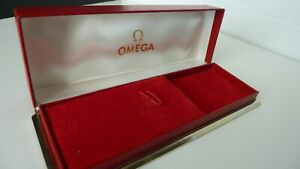 Omega Vintage Red Watch Box Early 60's Excellent Condition