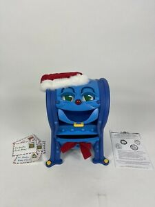 Vintage Telco MEL BOX The Talking Singing Christmas Mailbox Animated 1999 in box