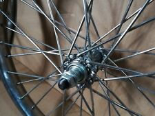 20 inch Front ONLY BMX KIDS Chrome Heavy Duty bicycle wheel 10g spokes  20x2.125