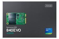 New Samsung 840 EVO Series 250GB mSATA Solid State Drive MZ-MTE250BW