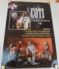 COTI NADA FUE UN ERROR ORIGINAL POSTER UNIVERSAL MUSIC COLOMBIA 2002