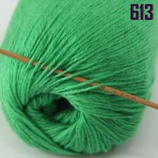 Sale New 1 Ball x 50gr Luxurious Soft Mongolian Pure Cashmere Hand Knit Wool 13