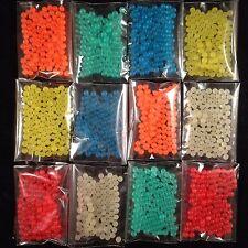 12 bags Glow In Dark Sensory Bin Crystal Soil Water Jelly Obeez Refill 1450+pcs