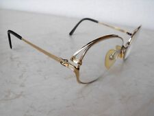 "Vintage Women's Eyeglasses ""Christian Dior"" Gold tone 2223 57[]17 made Austria"