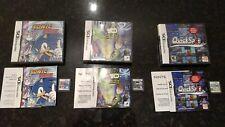 Lot of 3 Nintendo DS Games Complete Sonic Rush, Ben 10 Alien Force, Quickspot