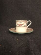Wedgwood Ventnor Bone China Demitasse Cup And Saucer England W996