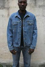 Fusil heritage veste en jean homme taille bleu trucker biker jeans xl