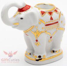 Dulevo Porcelain Elephant Figurine candlestick hand made souvenir