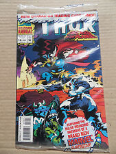 Thor annual 19 . Polybagged with Card - Marvel 1993 - VF / NM