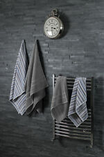 Silentnight Easy Care 4-piece Towel Bale Teal Stripe 100 Cotton