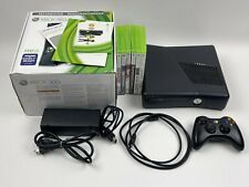 New listing Microsoft Xbox 360 S Console Bundle With Box, Controller & 6 Games Tested