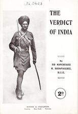 """""""The Verdict of India"""" by Sir Mancherjee M. Bownaggree, 1916"""