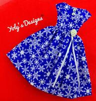 OOAK CHRISTMAS Handmade Dress FOR Barbie Vintage,Silkstone & Reproduction Doll