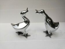 Metal Duck Garden Statue Yard Ornament Decorative Figurines