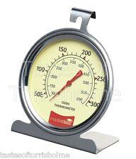 Master Class Grand acier inoxydable traditionnel Cadran Four Thermomètre