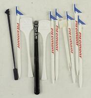 Vintage Advertising Piedmont Pan Am Eastern Airlines Plastic Swizzle Sticks
