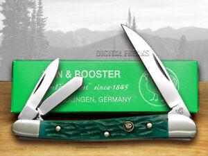 Hen & Rooster Wharncliffe Whittler Knife Green Pick Bone 263-GPB