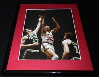 Jerry Lucas vs John Havlicek Framed 11x14 Photo Display Knicks Celtics
