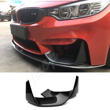 Real Carbon Fiber Front Bumper Air Outlet Fit For BMW  F30/35 M3 M4 2012-2018