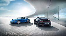 2015- Porsche 911 Targa 24 x 36 Poster