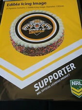 Official NRL Wests Tigers Cake Topper