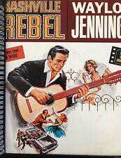 for the WAYLON JENNINGS Nashville Rebel 1960s fan! ALBUM COVER NOTEBOOK vinyl !!