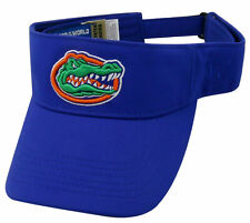 FLORIDA GATORS FOOTBALL UNIVERSITY NCAA ROYAL HAWKEYE VISOR CAP HAT NEW! TOW