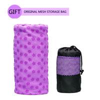 Yoga Towel Non Slip Yoga Mat Cover Towel Blanket Sport Fitness Exercise Pilates