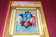 Annie's Favorite Home Decor Projects - Crochet - Hardcover - NEW