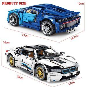 lego Bugatti voiture de sport Lamborghini BMW blocs de construction modèle car