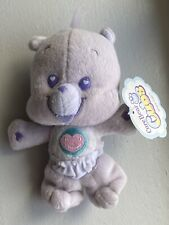 Care Bear 00006000  Cubs Plush Soft Share Bear Lavender Purple 2006 with Tags