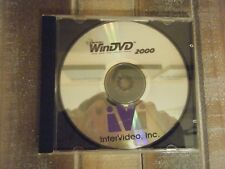 intervideo, inc windvd 2000 dell CD software