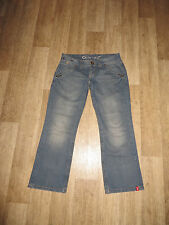"EDC by ESPRIT ""PLAY"" Capri Jeans Hüftig Blau Gr.34 **w.NEU**"