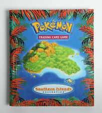Pokemon Southern Island Binder