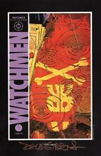 Alan Moore Watchmen Portfolio DC Comic Art Print SIGNED Dave Gibbons #5